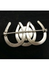 Horseshoe Brooch