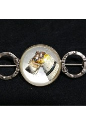 Essex Crystal Dog Brooch