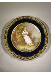 Royal Vienna Scenic Plate, Signed M. Picard