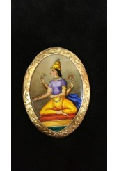 French Hindu Brooch